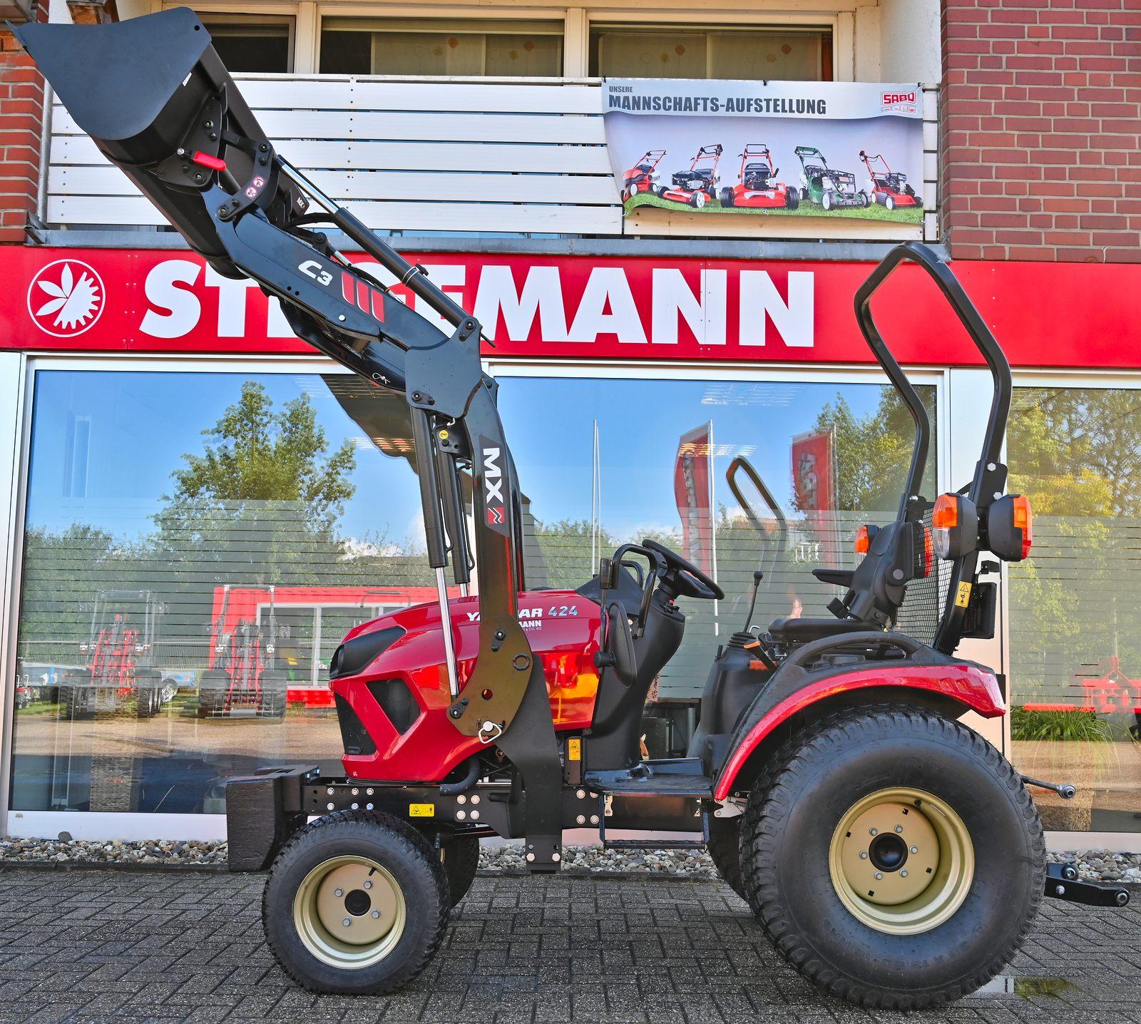 Frontlader MX C3 für Yanmar Kompakttraktoren
