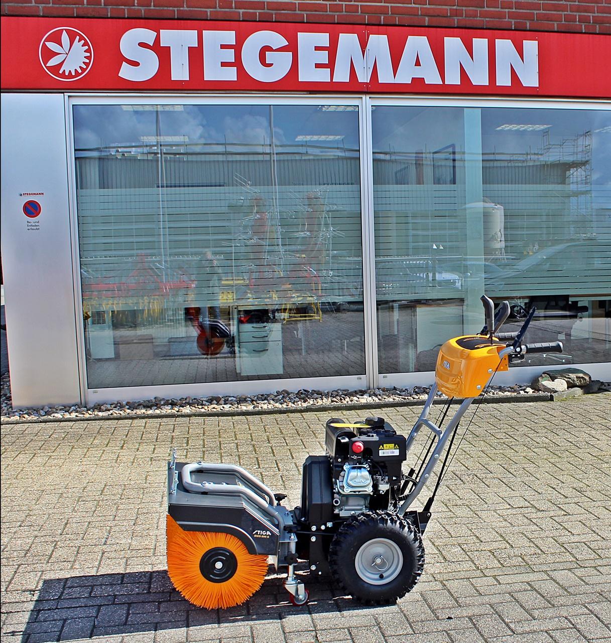 Stiga SWS 600 G Benzin-Kehrmaschine