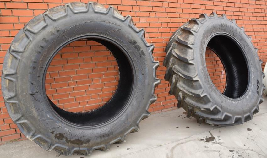 1 Paar neue Traktorenreifen 650/65 R 42 Mitas