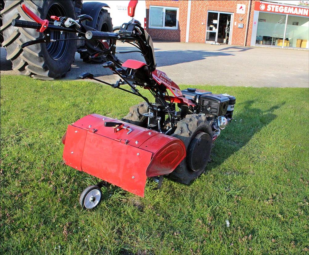 Jansen MGT-420 15PS Einachsschlepper mit Bodenfräse