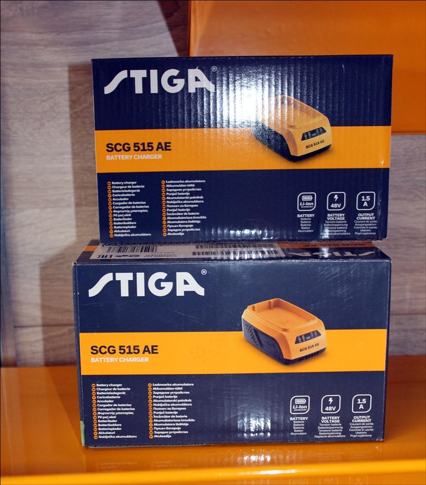 STIGA SCG 515 AE Battery Charger