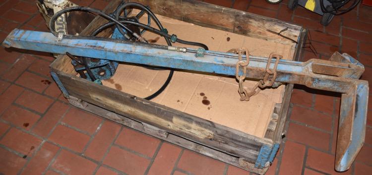 Lemken Packerarm mit hydraulischer Auslösung
